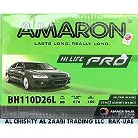 AMARON HI LIFE PRO CAR BATTERY 110D26L /NX110-5LMF 12V 80AH