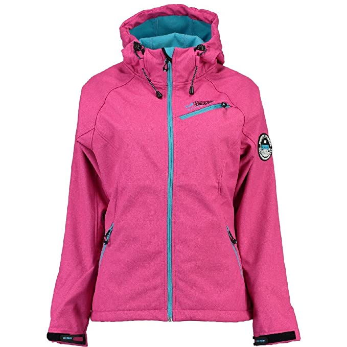Geographical Norway - Chaqueta - Blusa - para Mujer F-Pink/Turquoise S