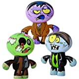 "5Star-TD Set of 3 Crazy Inflatable Zombies (24"") Party Decor/Favor/Giveaway/Toy"