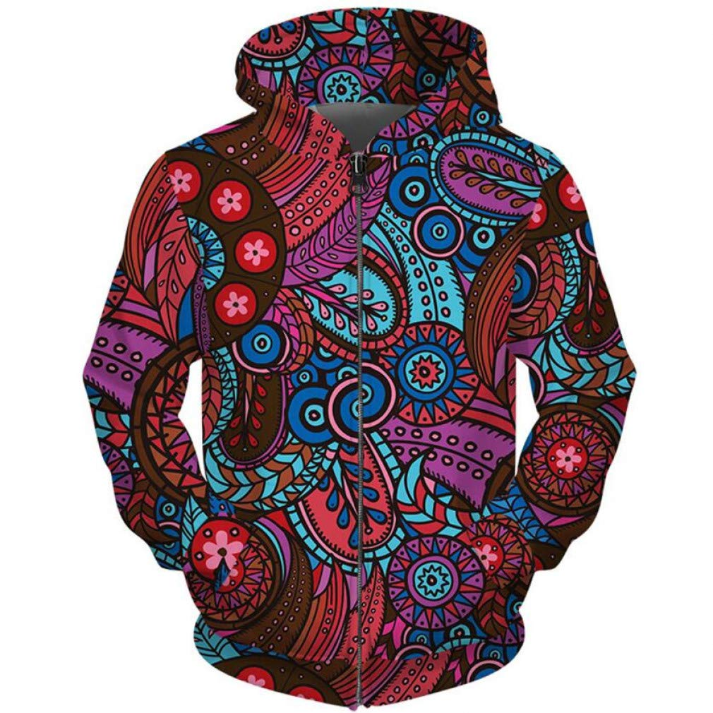 Snake beauty beauty Snake  Herbst Winter Zipper Hoodie Männer Frauen Hip Hop Streetwear Fashion 3D Sonne Kreis Blume Hoodie Männlich Zip Up Fell 8d901b