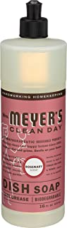 product image for Mrs Meyer's, Liquid Dish Soap Rosemary, 16 Fl Oz