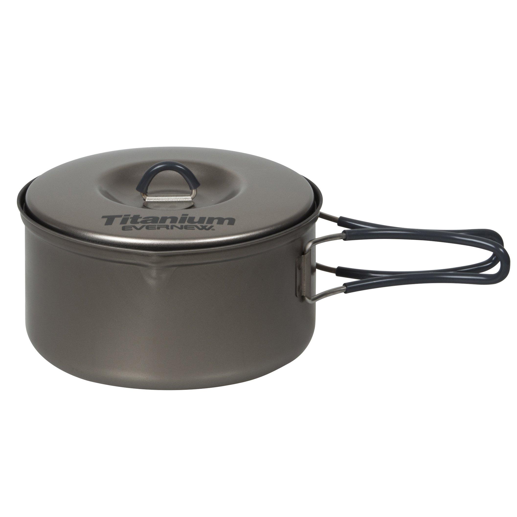 Evernew Titanium Non-Stick Pot, 0.9-Liter by EVERNEW
