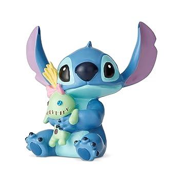 Disney 6002187 Stitch con la muñeca, Resina, Multicolor, Talla única