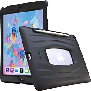 UZBL iPad 10.2 Case, AirWave Series Silicone Ultra Slim Lightweight Case with Pencil Holder for iPad 10.2 (7th Gen)