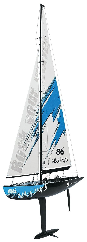 Racing-Segel-Yacht NAULANTIA 1:25, Baukasten, GELB