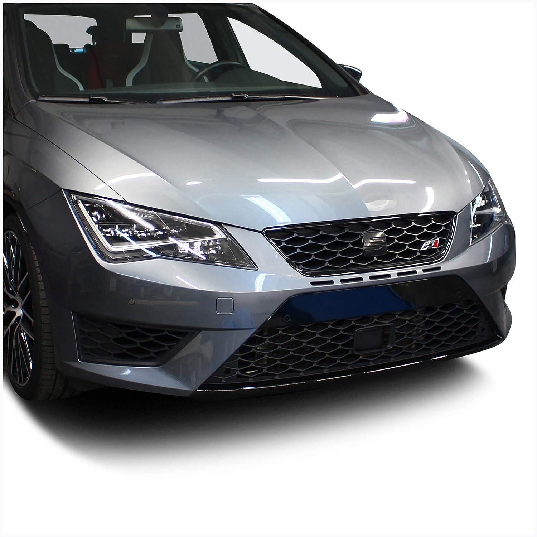 Finest Folia Spoilerschwert Folie Lippe Frontspoiler Splitter Schwarz Glanz D045 5f 2012 2017 Vorfacelift Auto