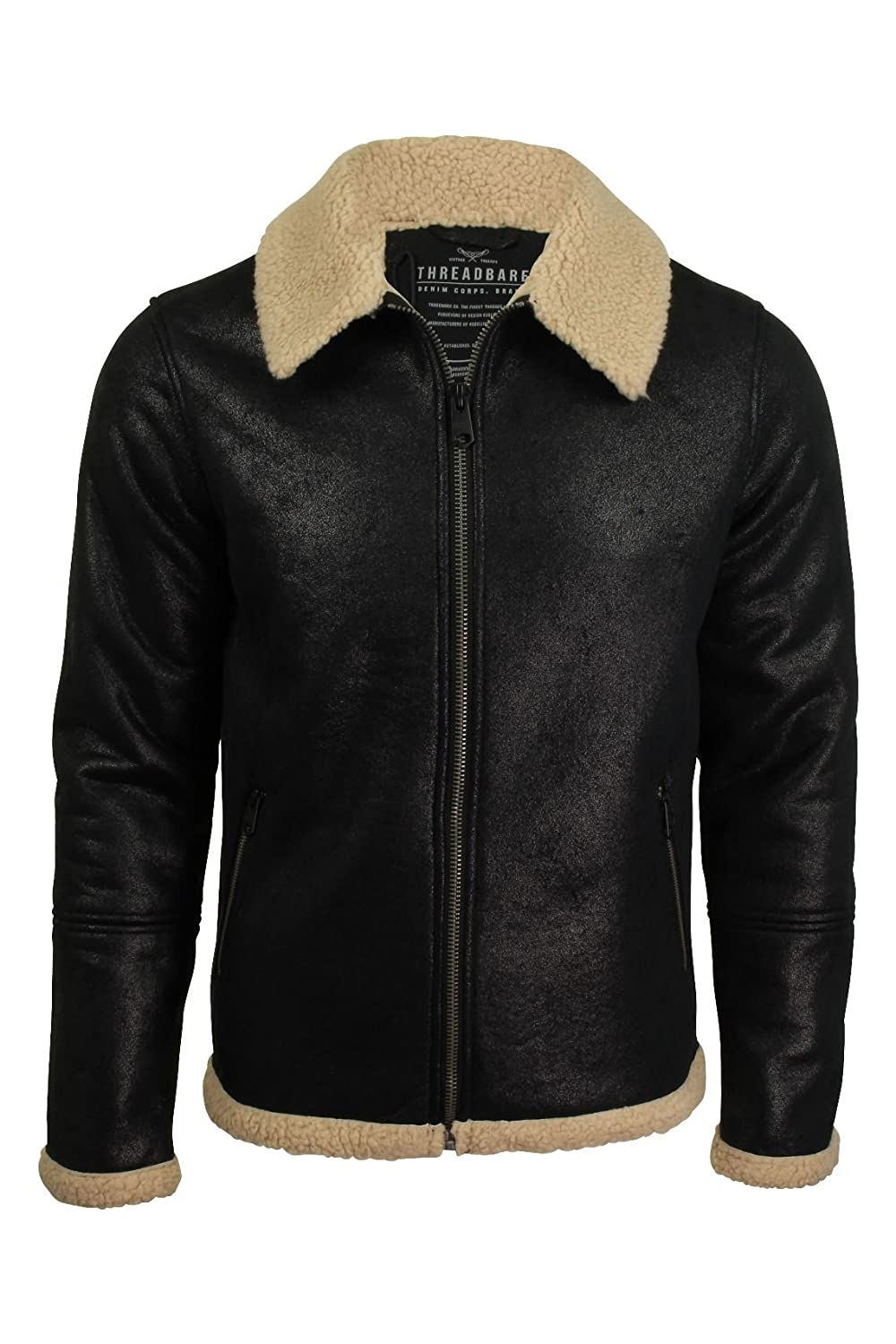 Threadbare Mens Flying Jacket Lancaster