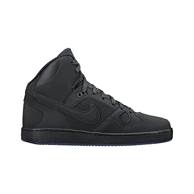 new concept 9be61 6cd0d NIKE Men s Son of Force Mid Premium Shoe Anthracite Ice Blue Black  Anthracite