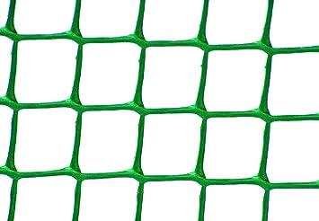 JB Retail Solutions Garden Experts Grillage de Jardin en Plastique Vert  Maillage de 19 x 19 mm Rouleau de 0,5 x 6 m