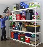 Industrial Quality Freestanding Shelf | 2'D x 8'W x 7'T
