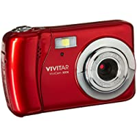 Vivitar VXX14 20.1 MP Selfie Cam Digital Camera, Red