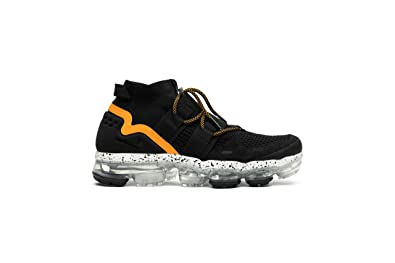 e46b6e898d19d Image Unavailable. Image not available for. Color  Nike AIR Vapormax FK  Utility Black Orange Peel  AH6834-008  ...