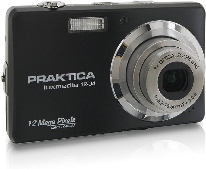 Praktica Luxmedia 12 04 Digital Camera Black Camera Photo