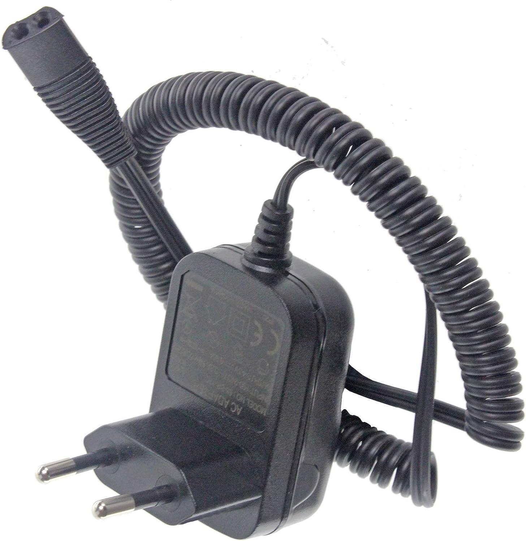Tipo 5760 Cargador Cable & UE 2 Pin Enchufe para Afeitadora Braun ...