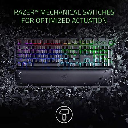 Razer Blackwidow Elite Mechanische Gaming Tastatur Computer Zubehör
