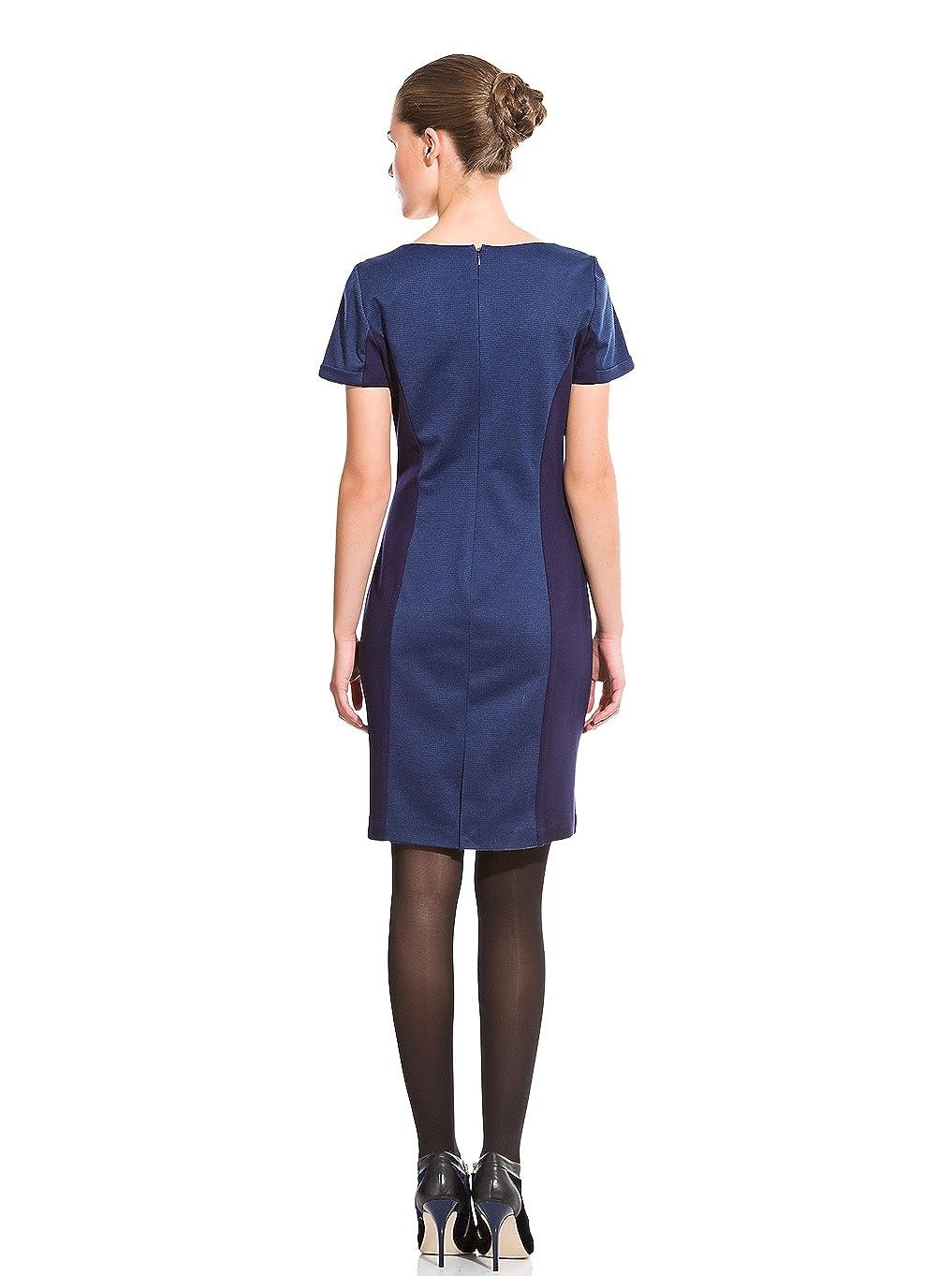 Cortefiel Vestido Espiga Punto Roma Azul Marino ES 36: Amazon.es: Ropa y accesorios