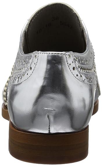 ef480137b5 Hudson London Women's Maddie Calf Brogues, (Silver 510), 39 EU:  Amazon.co.uk: Shoes & Bags