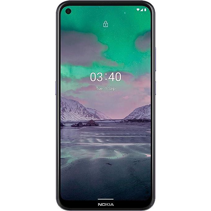Nokia 3.4 (Dusk, 4GB RAM, 64GB Storage) with No Cost EMI/Additional Exchange Offers