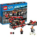 LEGO City - 60084 - Jeu De Construction - Le Transport De Motos De Course