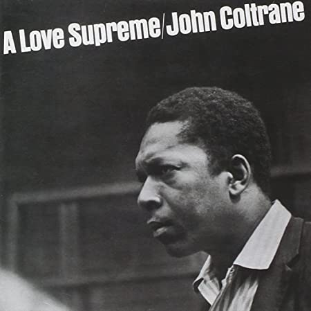 John Coltrane A Love Supreme Poster Print With Black Card Frame And Mount 21cm X Co Uk Kitchen Home