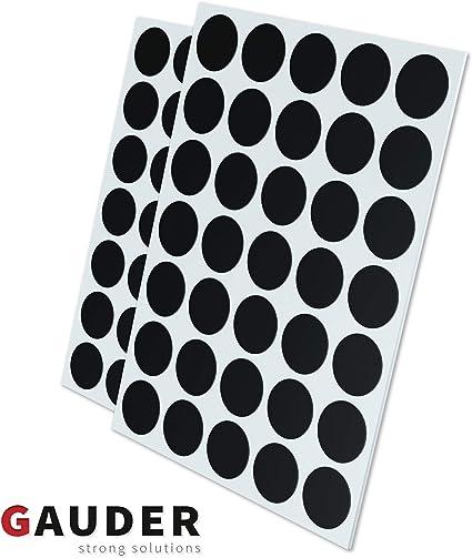 OfficeTree 2 x 50 Magnet-Plättchen 20 x 20 mm selbstklebend Büro Schule Haushalt