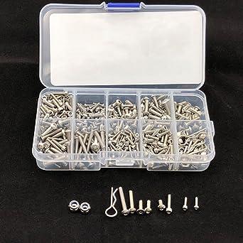 Faironly TRX4 - Caja de tornillos de acero inoxidable para herramientas TRX4