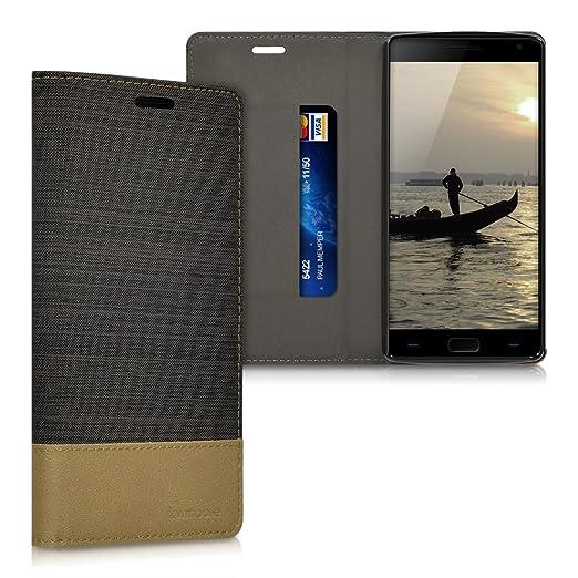 3 opinioni per kwmobile Cover Flip per OnePlus 2- Custodia a libro protettiva per cellulare in
