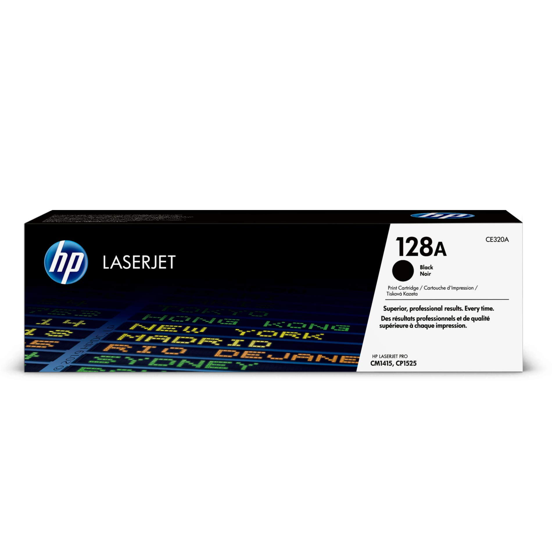 Toner Original HP 128A CE320A Black