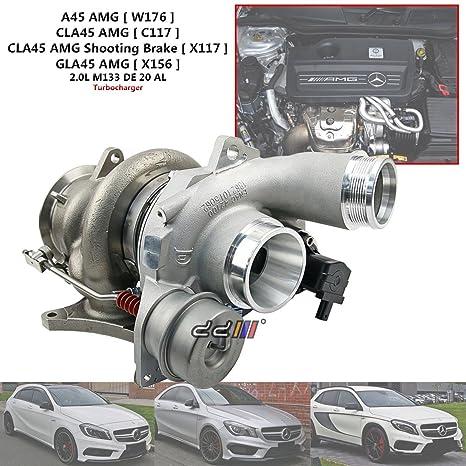 Turbocompresor Turbo para Mercedes Benz A45 CLA45 GLA45 AMG M113 B03G 18559700002