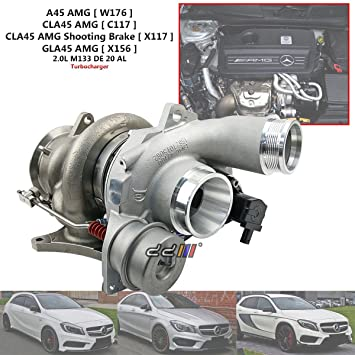 Turbocompresor Turbo para Mercedes Benz A45 CLA45 GLA45 AMG M113 B03G 18559700002
