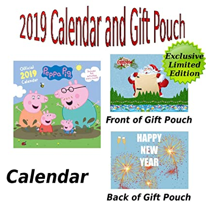 Umv Calendario.Peppa Pig 2019 Calendario Y Bolsa De Regalo De Alta