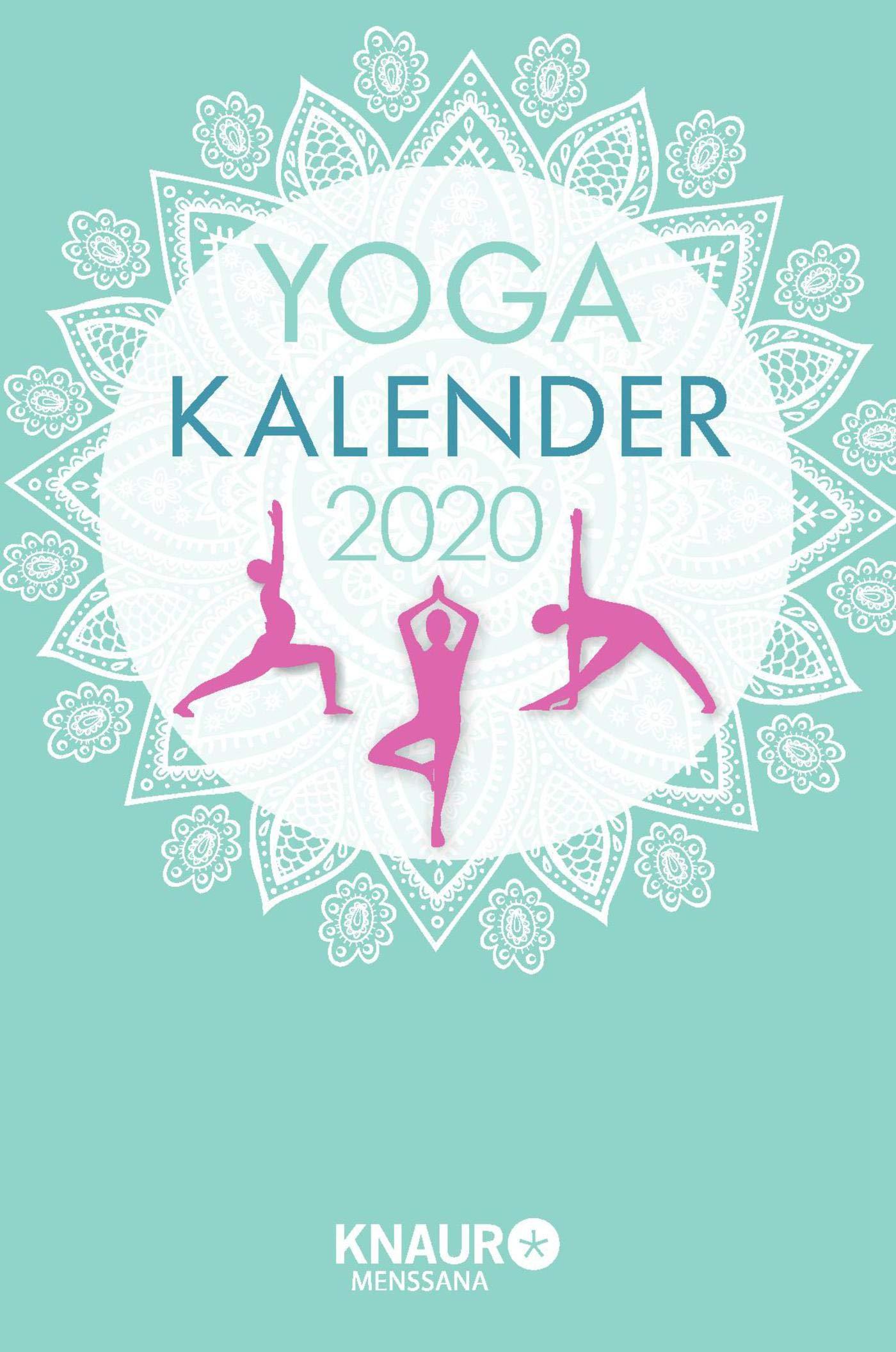 Yoga-Kalender 2020: Tageskalender, mit Yoga-Übungen für ...