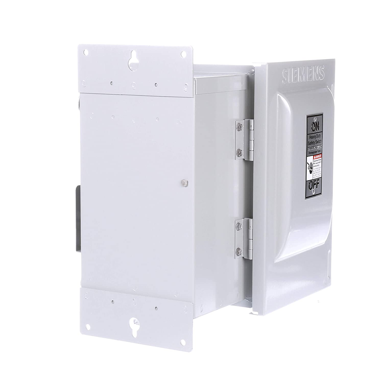 HI Siemens HNF361J 30-Amp 3 Pole 600-volt 3 Wire Non-Fused Heavy Duty Safety Switches Siemens