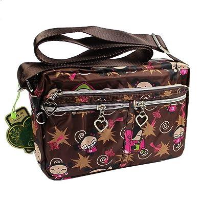 8613090ee5f9 cute korean women messenger bags girl cartoon nylon crossbody bag small  shoulder bag  Handbags  Amazon.com