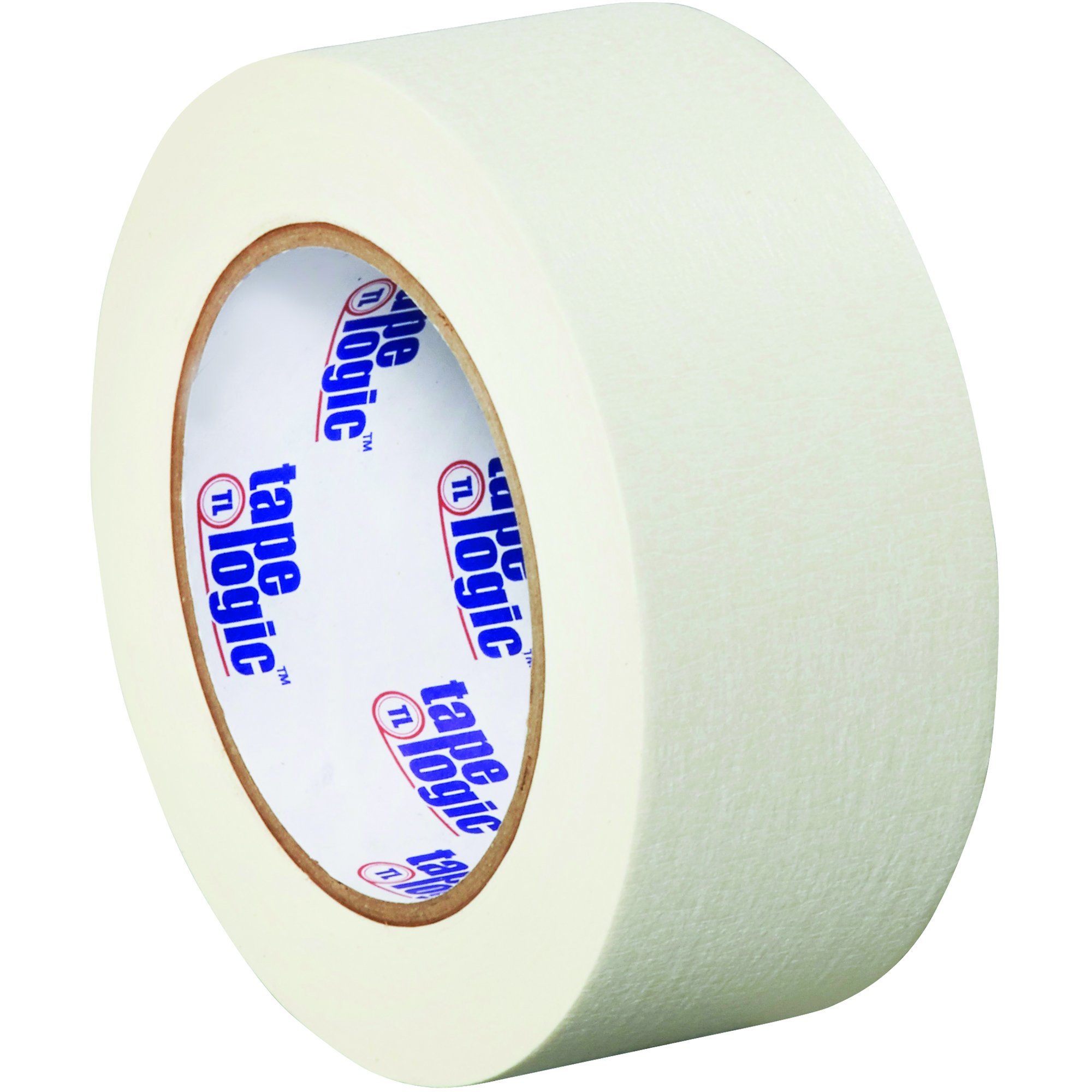 Colored White Masking Tape, 2 Inch x 60 Yds Per Roll (24 Rolls), Thick 4.9 Mil Multi Use for Identification, Painting, Labeling, Packing, Arts and Crafts, Home and Office