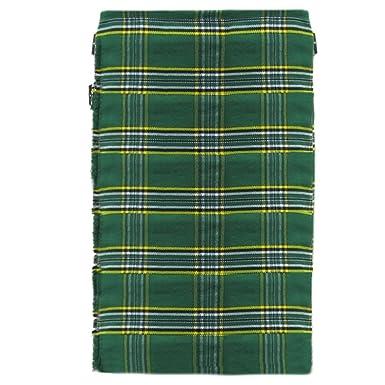 f4fcbe5fe3ab70 Tartanista - Kilt irlandais Deluxe pour homme - vert  Amazon.fr  Vêtements  et accessoires