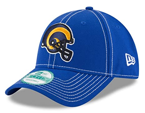 on sale 86713 76dfb Image Unavailable. Image not available for. Color  New Era 9Forty 4th Down Los  Angeles Rams Snapback Hat ...