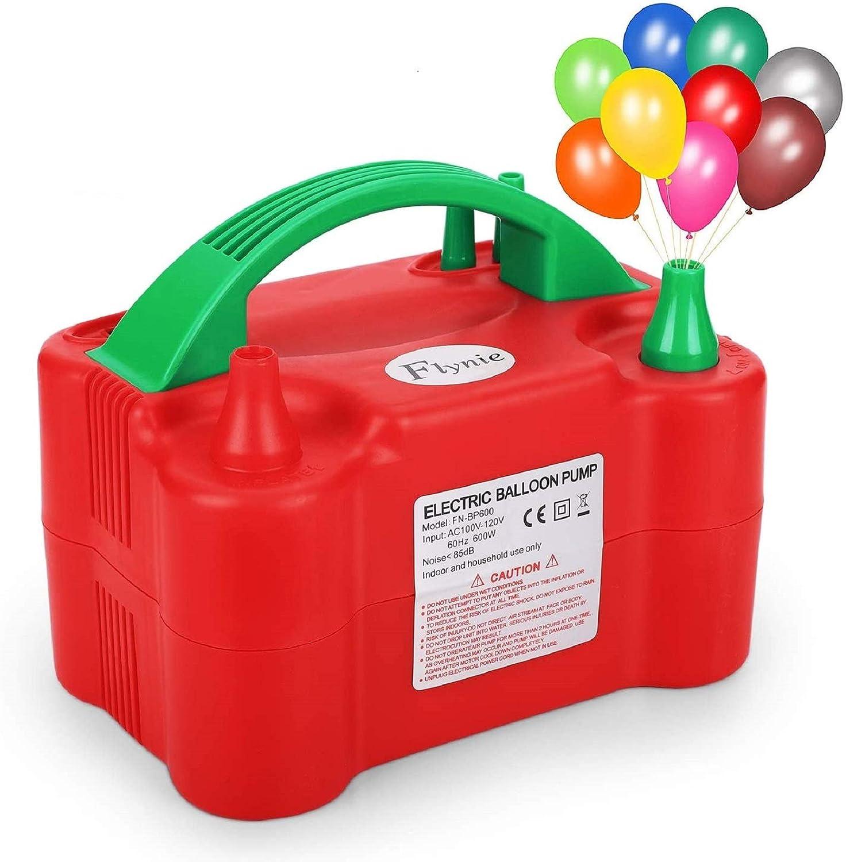 NovelBee 110V 600W Portable Electric Balloon Pump Air Pump Balloon Inflator