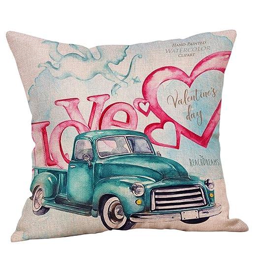 Valentine funda de almohada Funda de almohada feliz San ...