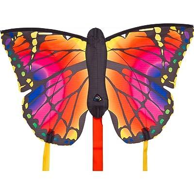 "HQ Kites Butterfly Kite Ruby 20"" Single Line Kite: Toys & Games"