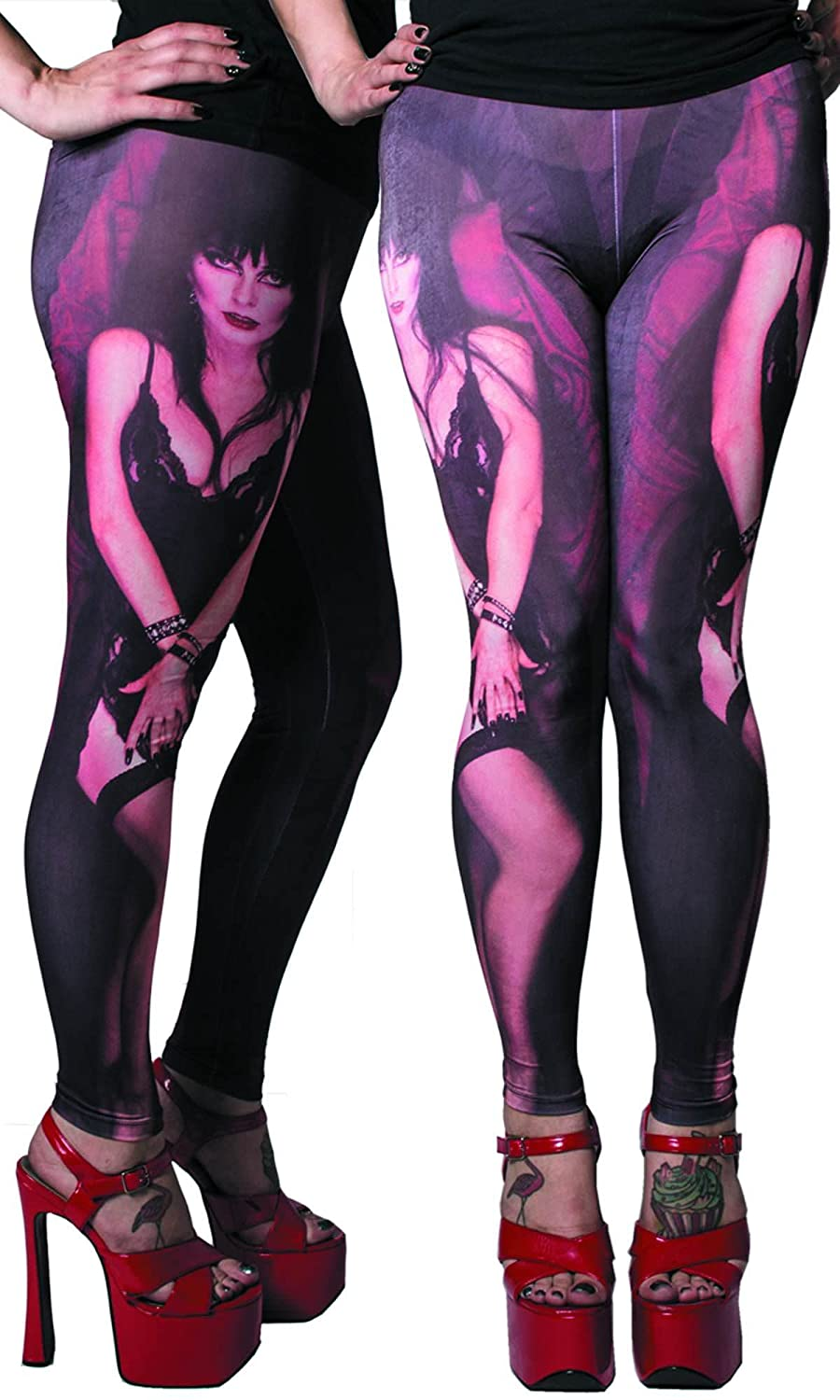 Kreepsville 666 Presents Elvira Mistress Of The Dark My Coffin Leggings