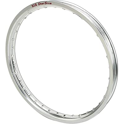 D.I.D. 18X215VS01T Dirt Star Silver 2.15x18 OEM Profile Rear Rim: Automotive