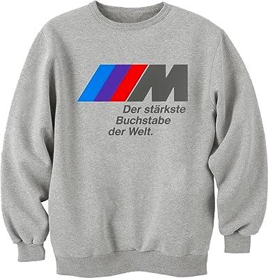 Sport-Car BMW camiseta Unisex Crewneck-Sudadera gris XXL: Amazon.es: Ropa y accesorios
