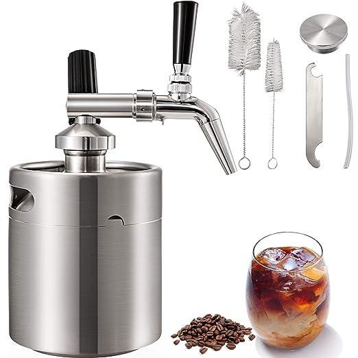 Gioevo - Cafetera Nitro Cold Brew de 5 litros, máquina de café ...