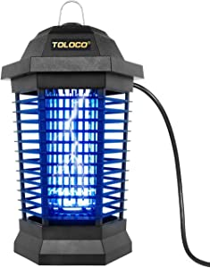 Bug Zapper Outdoor Electric, Insect Fly Traps, Mosquito Zappers , Mosquito Killer for Patio (Zap T6 Pro)