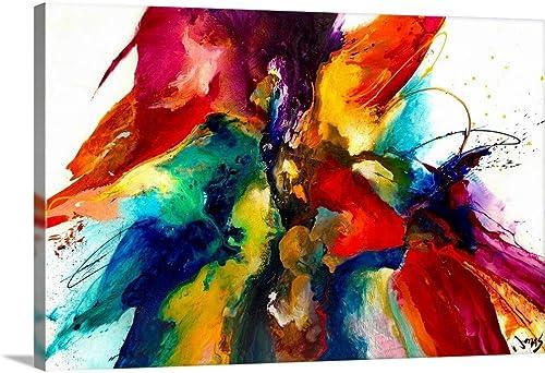 Flourish III Canvas Wall Art Print