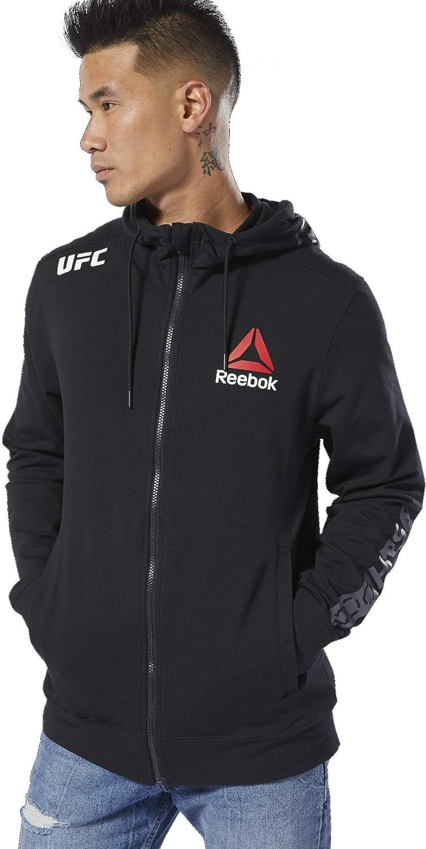 Reebok Men's UFC Blank Walkout Hoodie
