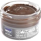 Woly Brown Shoe Creams 50ML (Dark Brown)