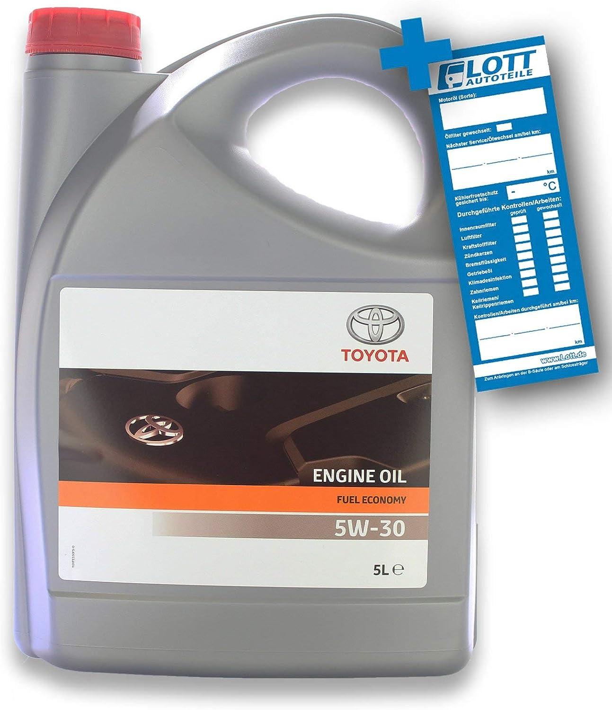 Toyota 5w 30 Fuel Economy A5 B5 5 Liter 5w30 Motoröl Auto