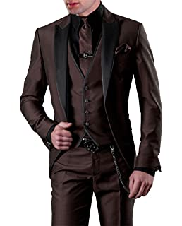 Suit Me Tailored Men Suit 3 piezas de traje de chaqueta de smoking ...